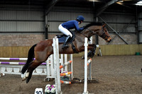 BS Showjumping @ Bridgend College February  2018